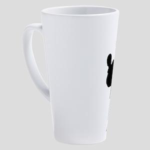 Karate Boy 17 oz Latte Mug