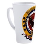 Veteran Proud to Serve 17 oz Latte Mug