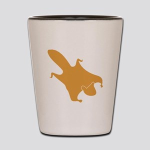 Brown Flying Squirrel Shot Glass