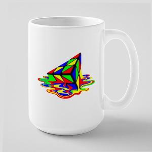 Pyraminx cude painting01B Mugs