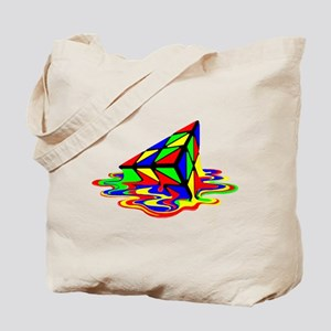 Pyraminx cude painting01B Tote Bag