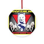 WooFTailing Emblem Ornament (Round)