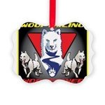 WooFTailing Emblem Ornament