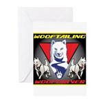 WooFTailing Emblem Greeting Cards