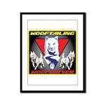 WooFTailing Emblem Framed Panel Print