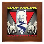 WooFTailing Emblem Framed Tile