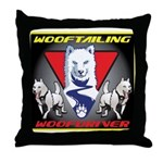 WooFTailing Emblem Throw Pillow