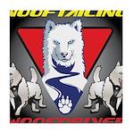 WooFTailing Emblem Tile Coaster