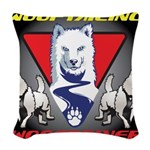 WooFTailing Emblem Woven Throw Pillow