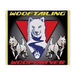 WooFTailing Emblem Throw Blanket