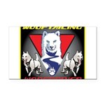 WooFTailing Emblem Rectangle Car Magnet