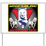 WooFTailing Emblem Yard Sign