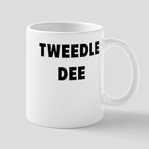 tweedle dee Mugs