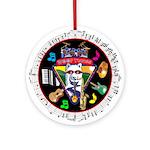 WooFTunes LogoMusic Ornament (Round)