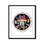 WooFTunes LogoMusic Framed Panel Print