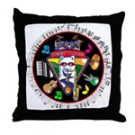 WooFTunes LogoMusic Throw Pillow