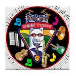 WooFTunes LogoMusic Tile Coaster