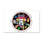 WooFTunes LogoMusic Car Magnet 20 x 12