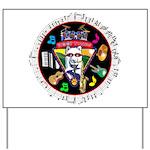 WooFTunes LogoMusic Yard Sign