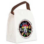 WooFTunes LogoMusic Canvas Lunch Bag