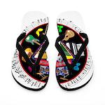 WooFTunes LogoMusic Flip Flops