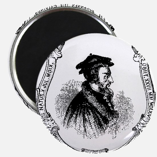 John Calvin Profile Magnets