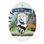 WooFTales Emblem Ornament (Oval)