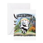 WooFTales Emblem Greeting Cards