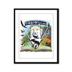 WooFTales Emblem Framed Panel Print