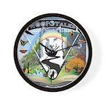 WooFTales Emblem Wall Clock