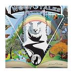 WooFTales Emblem Tile Coaster