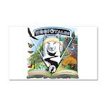 WooFTales Emblem Car Magnet 20 x 12