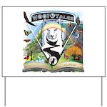WooFTales Emblem Yard Sign