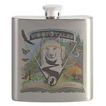 WooFTales Emblem Flask
