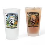 WooFTales Emblem Drinking Glass