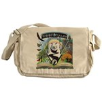 WooFTales Emblem Messenger Bag