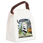 WooFTales Emblem Canvas Lunch Bag