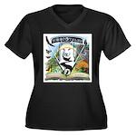WooFTales Emblem Plus Size T-Shirt
