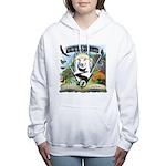 WooFTales Emblem Women's Hooded Sweatshirt