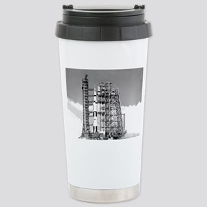 Saturn V Stainless Steel Travel Mug