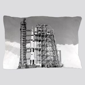Saturn V Pillow Case