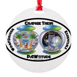 Change Their PAWtitude Ornament