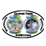 Change Their PAWtitude Postcards (Package of 8)