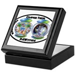 Change Their PAWtitude Keepsake Box