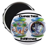 Change Their PAWtitude Magnets