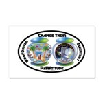 Change Their PAWtitude Car Magnet 20 x 12