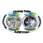 Change Their PAWtitude Sticker