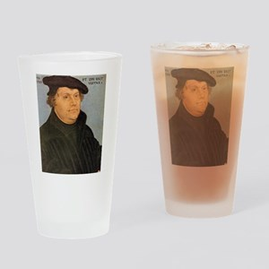 Martin Luther Poster Drinking Glass