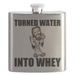 Turned Water Into Whey Flask