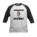 Turned Water Into Whey Baseball Jersey